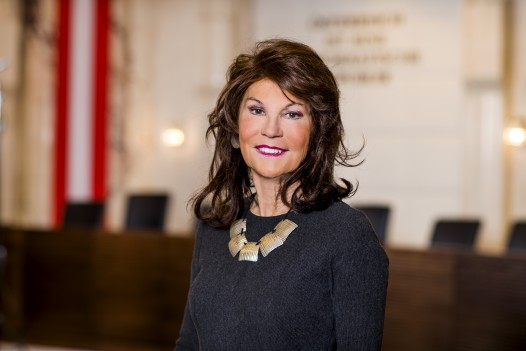 Press Photo: Ret. President of the Constitutional Court Brigitte Bierlein ©VfGH/Achim Bieniek